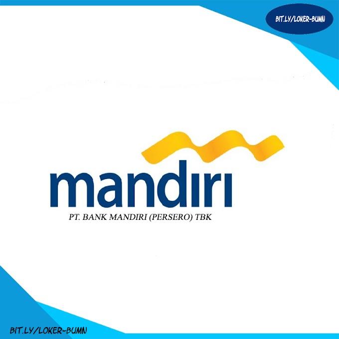 Lowongan Kerja Frontliner PT Bank Mandiri (Persero) Tbk Pendidikan SMA, D3 dan S1