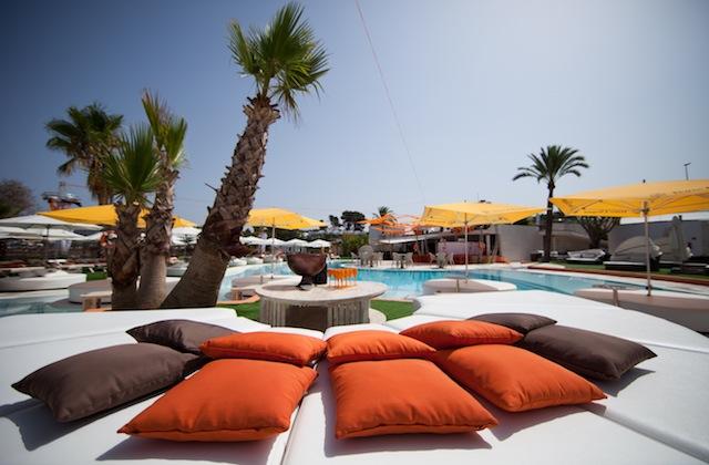 Ocean Beach Club em Ibiza