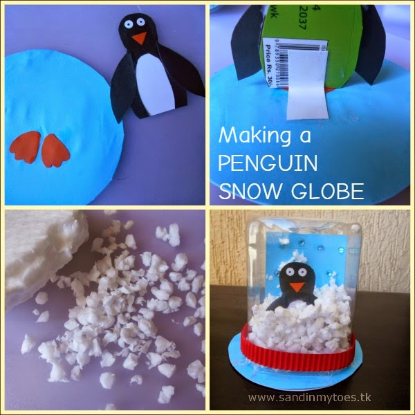 Tutorial for making a Penguin Snow Globe