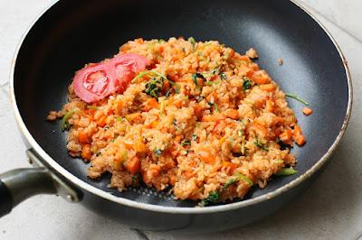 Resep dan cara membuat nasi goreng bali Spesial