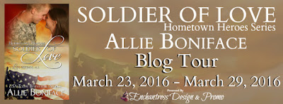 Soldier of Love Blog Tour – Promo & Giveaway