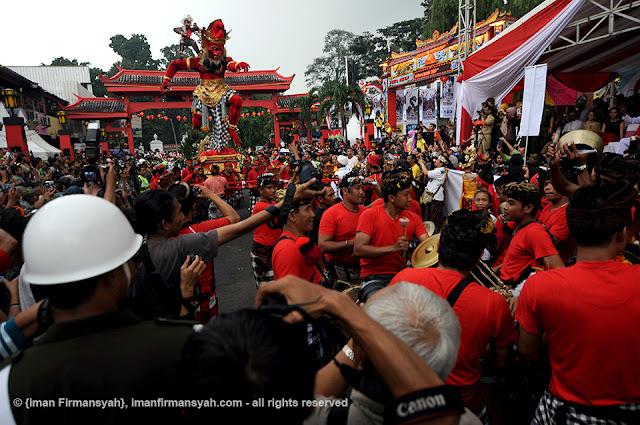 Keberagaman dalam  Cap  Go Meh Bogor Street  Festival 2016