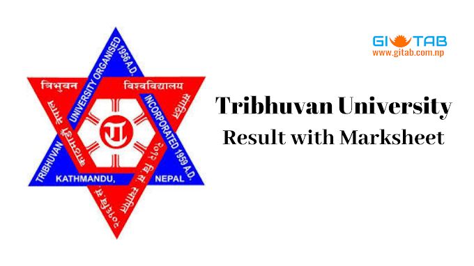 TU Result with Mark Sheet