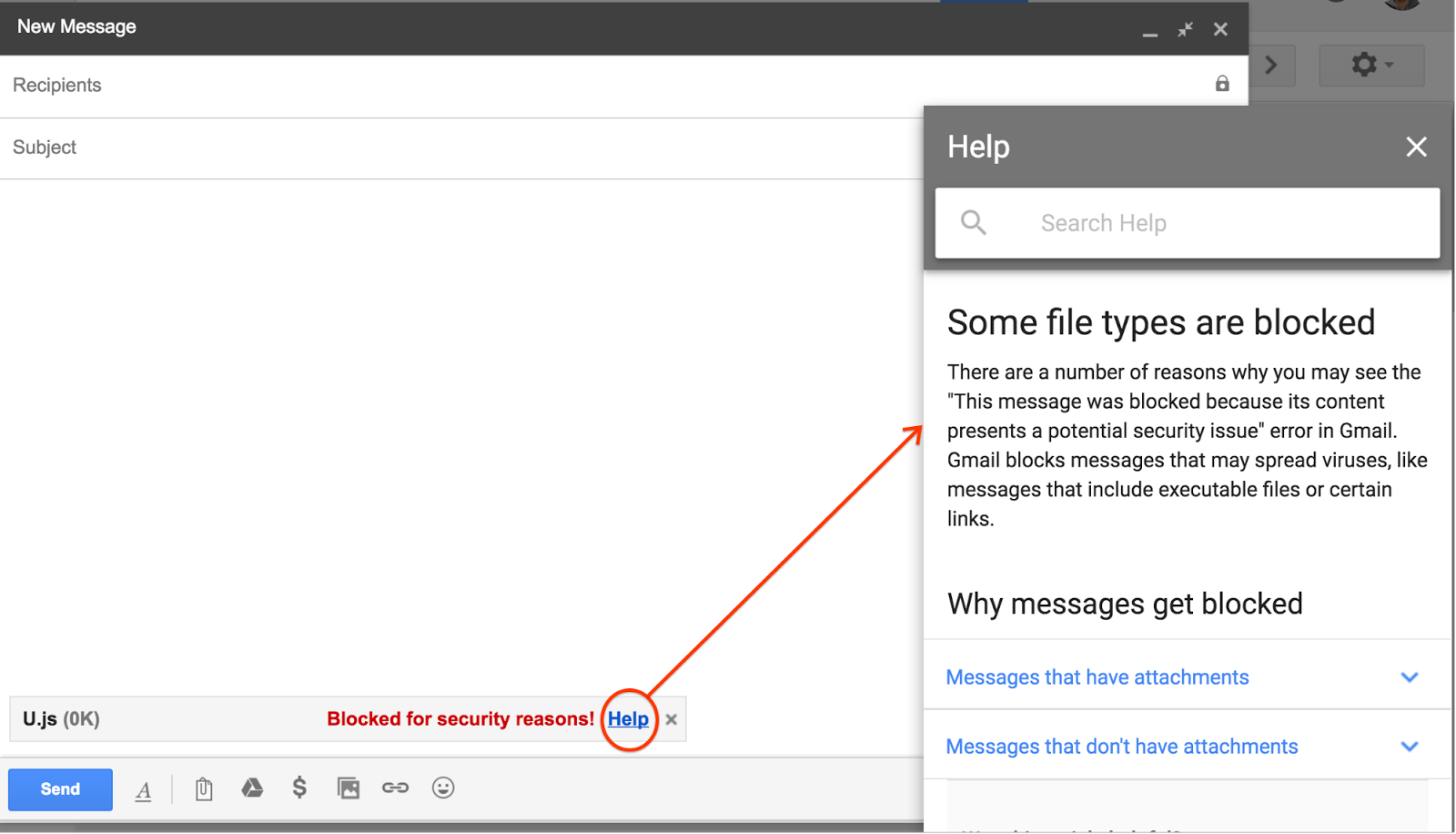 G Suite Updates Blog: Gmail will block  js file attachments