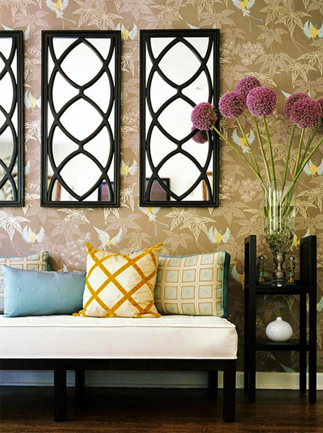 dekoratif duvar aynalari