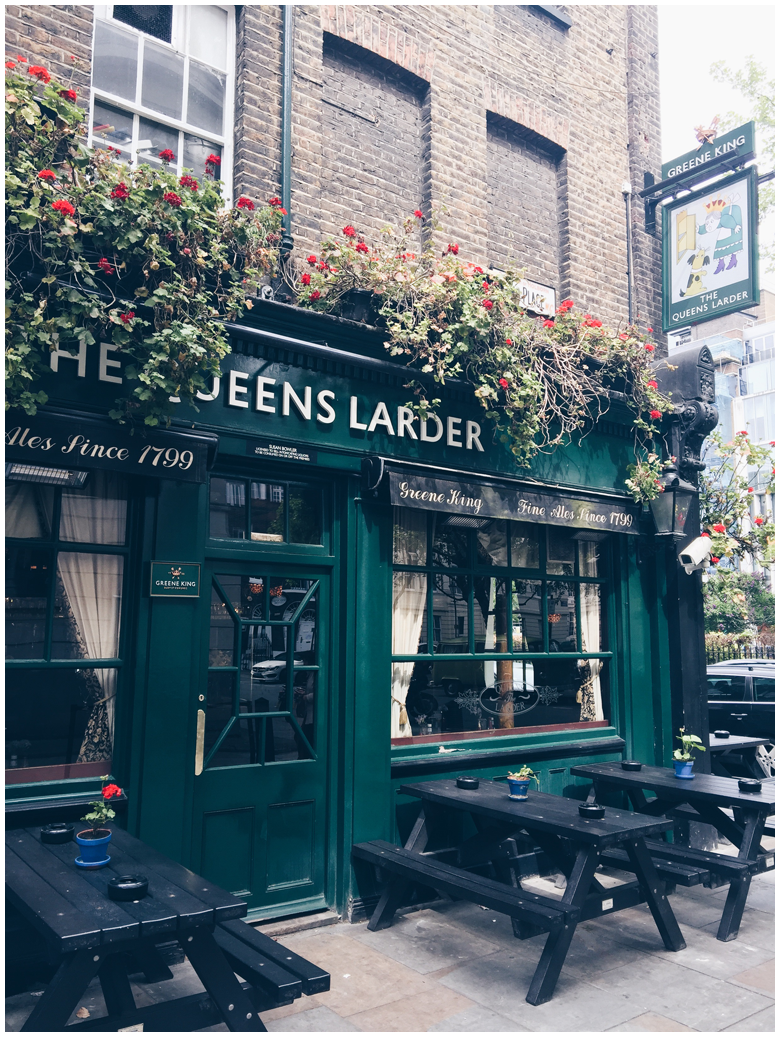 travel diary, london, bloomsbury, pub
