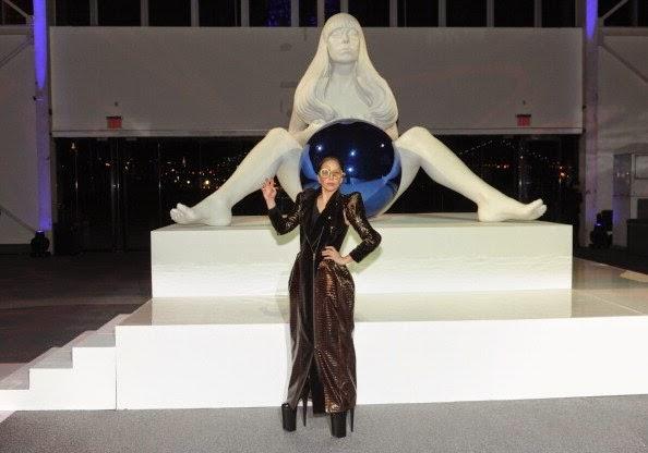 Lady Gaga en el artRAVE