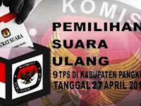 KPU Pangkep Akan Gelar Pemilihan Suara Ulang Tanggal 27 April 2019 Mendatang