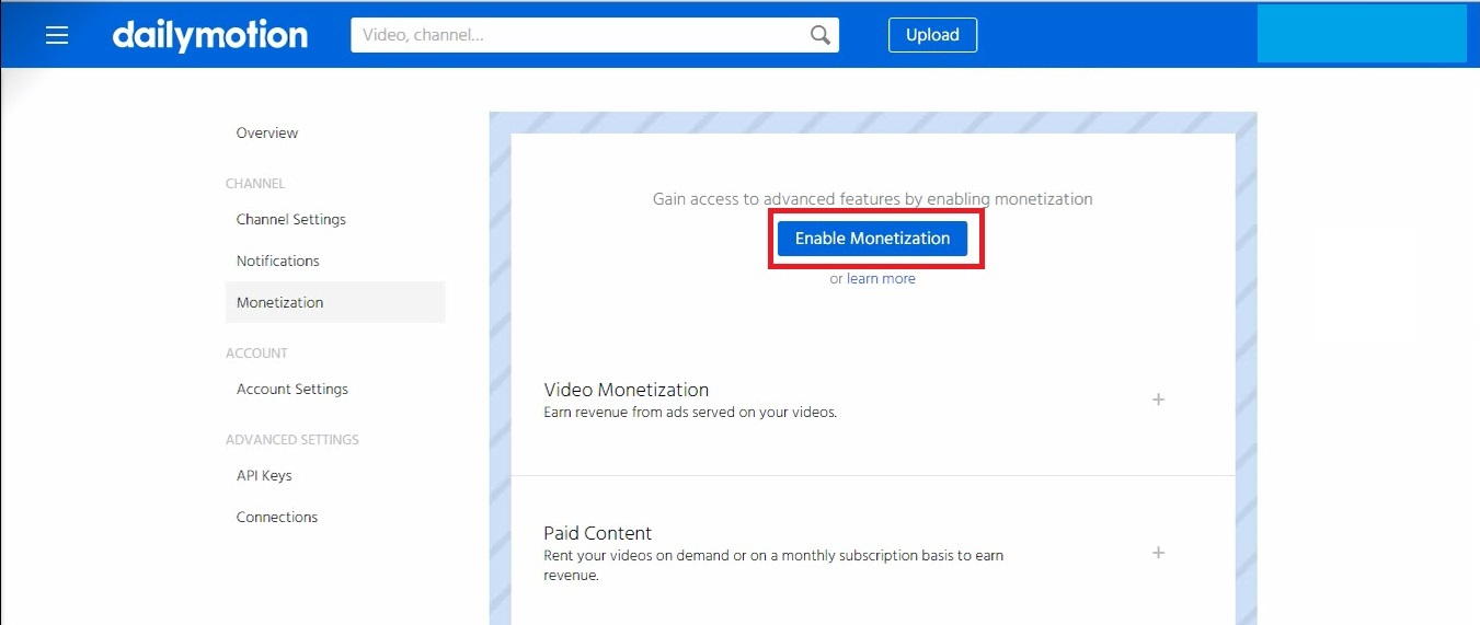 Image result for dailymotion monetization