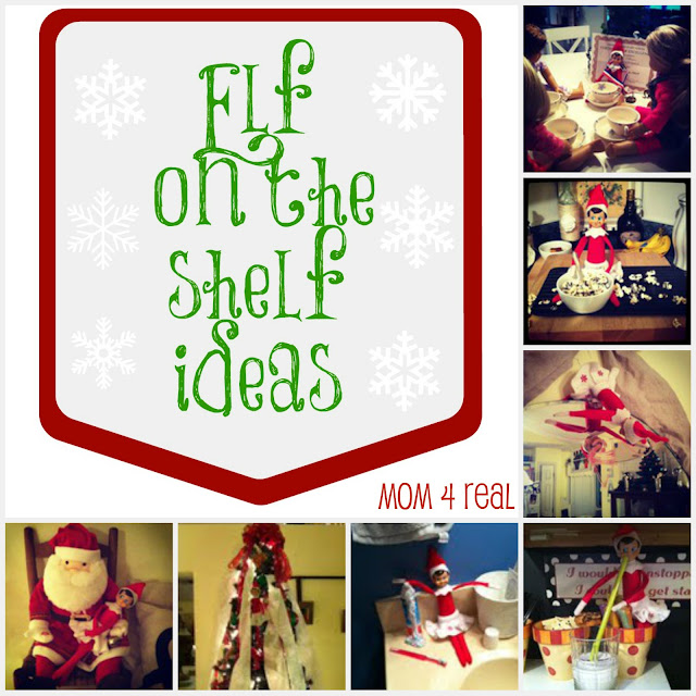 Elf On The Shelf Ideas at Mom 4 Real