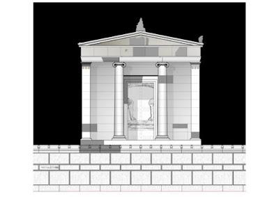 Η μεγαλοπρεπής είσοδος για τον νεκρό ήρωα της Αμφίπολης