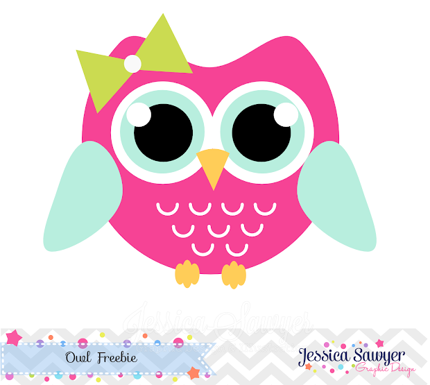 Draw Owl Free Clipart Jessica Sawyer Design