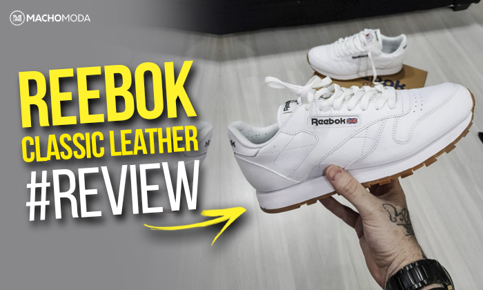 Macho Moda - Blog de Moda Masculina  REEBOK CLASSIC LEATHER  Review ... 8dd1df1df32fe