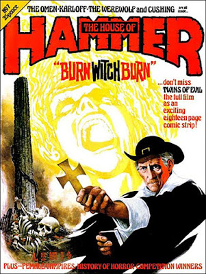 The House of Hammer #7, Twins of Evil, Peter Cushing, Burn witch burn