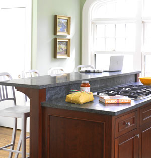 Add A Two Tier Island In Your Kitchen M Amp M Construction
