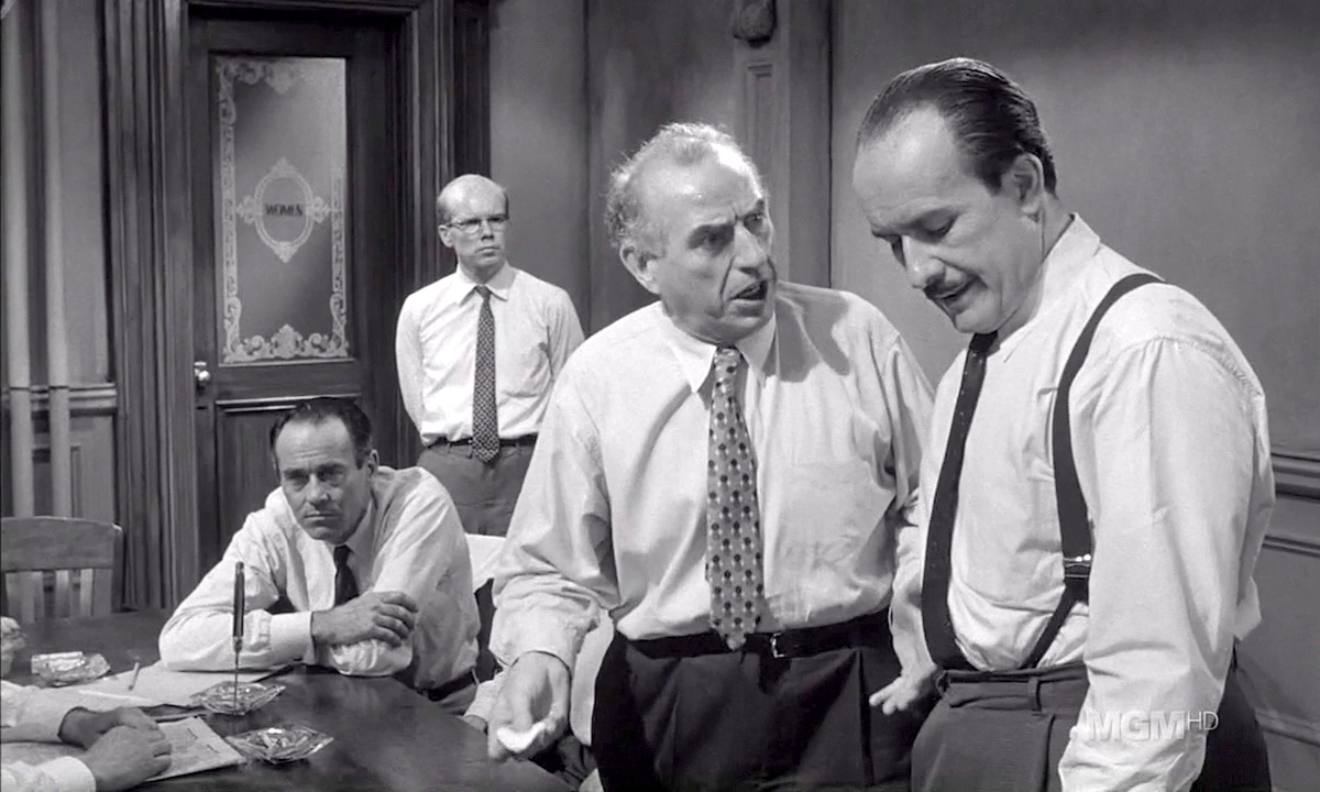 12 angry men juror 9 Twelve angry men a classic american drama behind closed doors, tensions run high as a lone juror argues the innocence of a teenager accused of murder.