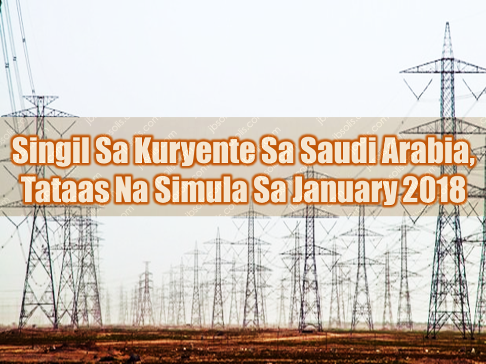 "Gradual revision of changes to electricity tariffs of including energy prices in the Kingdom has been approved by the Council of Ministers effective from Jan. 1. 2018, the Electricity and Cogeneration Regulatory Authority (ECRA) announced on Tuesday.  Residential electricity consumption of 1-6000 KWh per month will cost 18 halalas/KWh. But consumption above 6000 KWh per month will cost 30 halalas/KWh.  Commercial electricity consumption of 1-6000 KW/h per month will cost 20 halalas KW/h. But consumption above 6000 KW/h per month will cost 30 halalas KW/h.  Electricity consumption for agriculture use or by non-profit organizations, foundations, charities etc. will cost 16 halalas KW/h for 1-6000 consumption KW/h per month. But consumption above 6000 KW/h per month will cost 20 halalas KW/h.  Electricity consumption by private healthcare institutions, education institutes and private schools will cost 21 halalas KW/h.  Consumption for industrial use will cost 18 halalas KW/h and for government use it will cost 32 halalas KW/h.  ECRA said, ""This step will raise our economic efficiency and will strengthen our non-oil sectors as they become our economic development engine. It will rationalize the consumption of natural resources for future generations.""  It said the changes to electricity tariffs will help redirect support to the most deserving beneficiaries through the Citizen's Account Program, which is implemented and supervised by the Ministry of Labor and Social Development. Sponsored Links  ECRA explained that the approved tariffs are designed to cover the cost of services and ensure sustainable electricity supply throughout the Kingdom.  It will also contribute to improving the quality of service, increasing productivity, as well as opening up the field for competition.  The Authority explained that it is working in coordination with both the Saudi Electricity Company (SEC) and the Power and Water Utility Company for Jubail and Yanbu (MARAFIQ) to take all necessary measures and amend the billing system accordingly. Source: Saudi Gazette     Advertisement  Read More:                   ©2017 THOUGHTSKOTO  www.jbsolis.com   SEARCH JBSOLIS, TYPE KEYWORDS and TITLE OF ARTICLE at the box below"