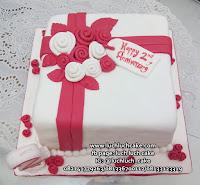 Kue Tart Elegant Bunga Mawar