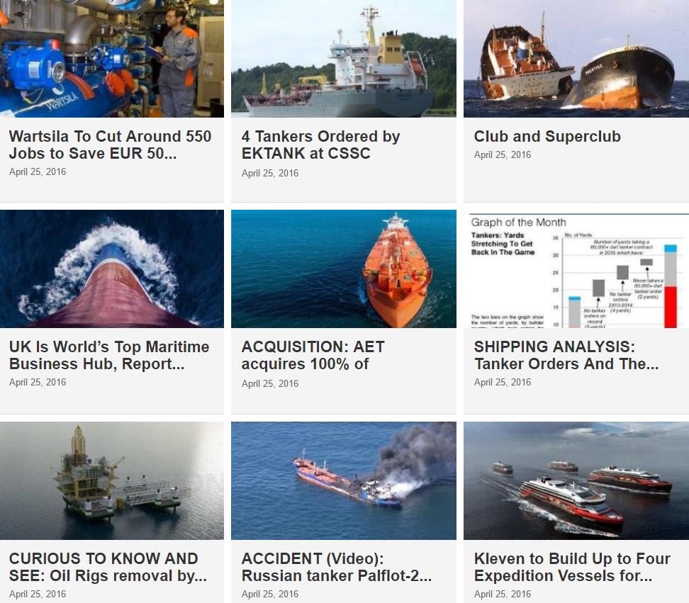 Maritime News 25 April 2016