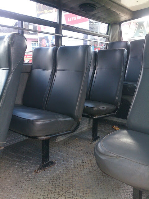 interior shuttle bus dieng