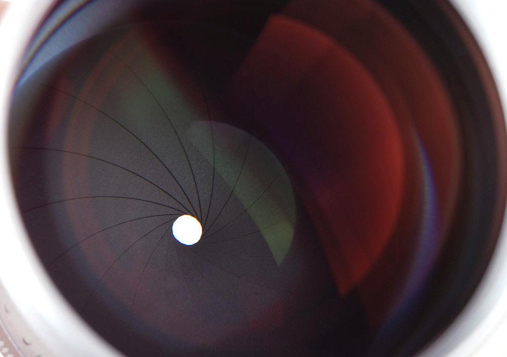 Диафрагма объектива MS Optics Sonnetar 73mm f/1.5 F-MC