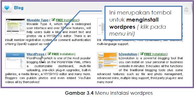 Cara Mendapat Hosting & Install Script Wordpres Gratis