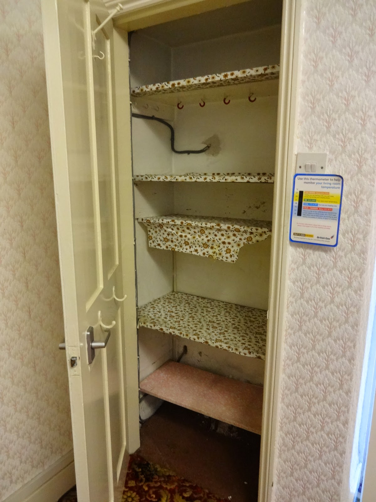 food cupboard in old house