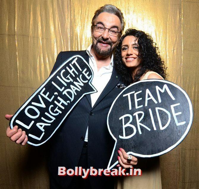 Kabir Bedi and Parveen Dusanj, Singer Raageshwari's wedding Pics