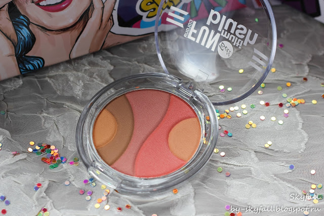 румяна многоцветные Bell multi blush