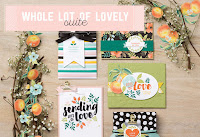 Look more closely at the Whole Lot of Lovely Product Suite by Stampin' Up!