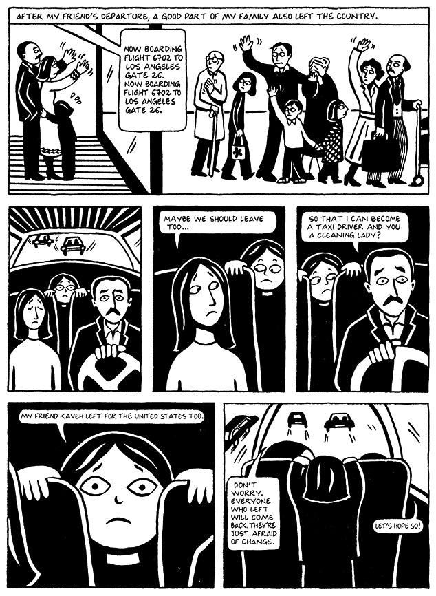 Read Chapter 9 - The Sheep, page 62, from Marjane Satrapi's Persepolis 1 - The Story of a Childhood