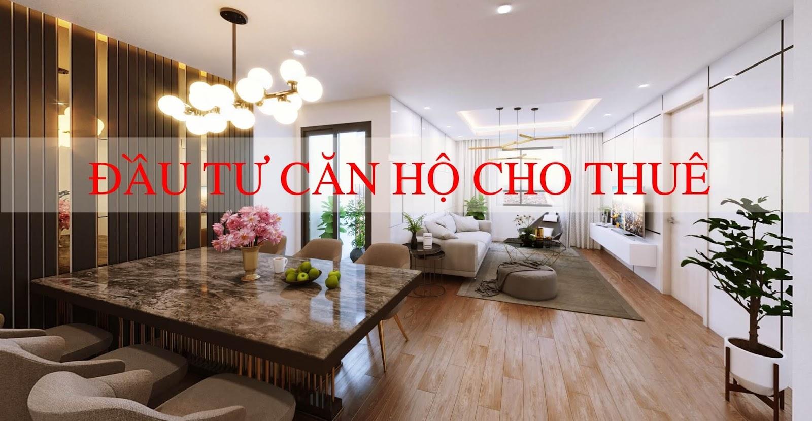 Đầu tư căn hộ cho thuê tại chung cư Amber Riverside
