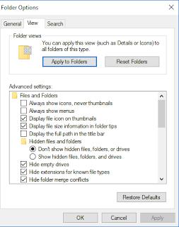 cara paling mudah menyembunyikan file di laptop tanpa software
