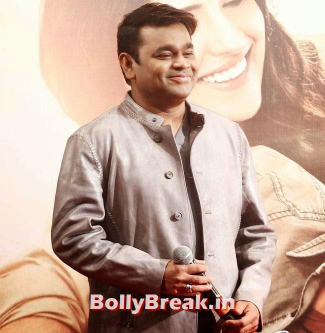 A R Rahman, Kareena, Karishma, Deeksha at Lekar Hum Deewana Dil Music Launch