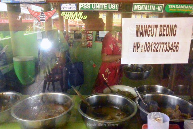 Nomor yang bisa dihubungi untuk memesan mangut beong