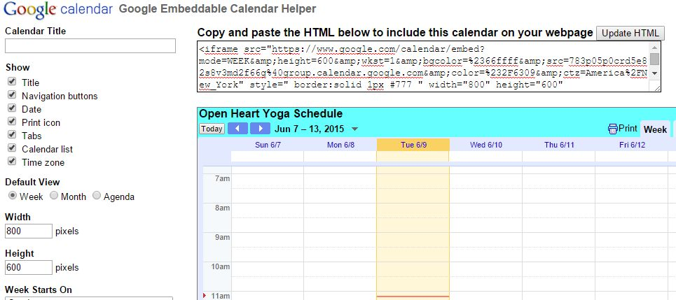 Computer Genie: How to Add Google Calendar Tab to your