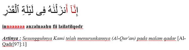 Surat Al-Qodr ayat 1