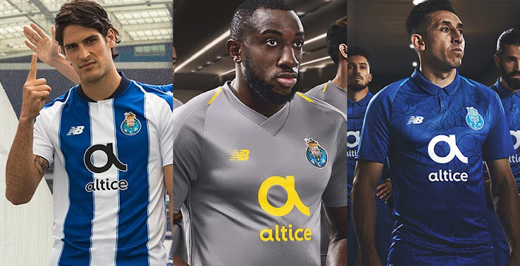 502d43ff3b6 All three Porto jersey for the 2018-2019 season are now officially revealed,  following today's unveiling of the away.