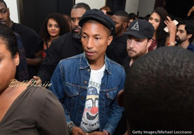 "Rihanna Party New York Edition September 2015 BellaNaija0014 600x419 1 - GLOBAL: ""I exfoliate like a madman"" – Pharrell Williams reveals Skincare Routine"