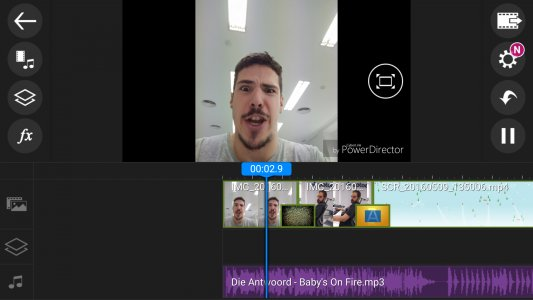 Screeenshot PowerDirector Video Editor App