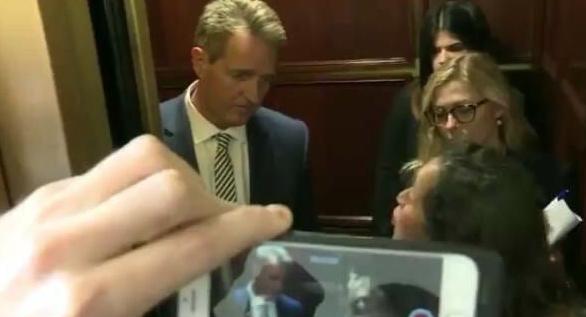 Ocasio-Cortez Accidentally Announces Soros-Activist Who Confronted Flake in Elevator is ILLEGAL ALIEN (VIDEO)