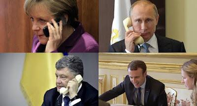 """Телефонные переговоры """"нормандской четверки"""" закончились ничем"""