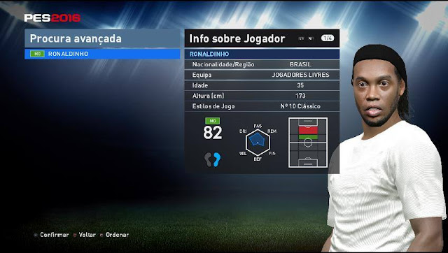 PES 2016 Patch Tuga Vicio v3.0 + Update 3.1