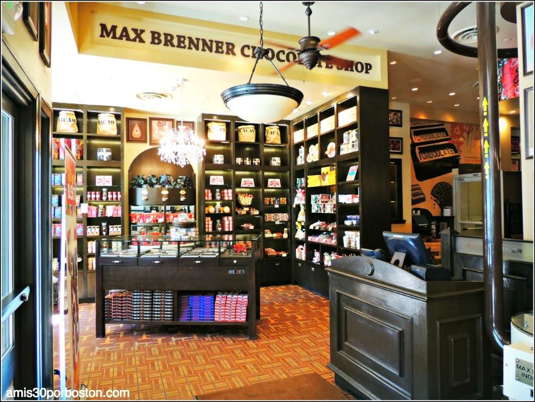 Hot Chocolate: Max Brenner Boston