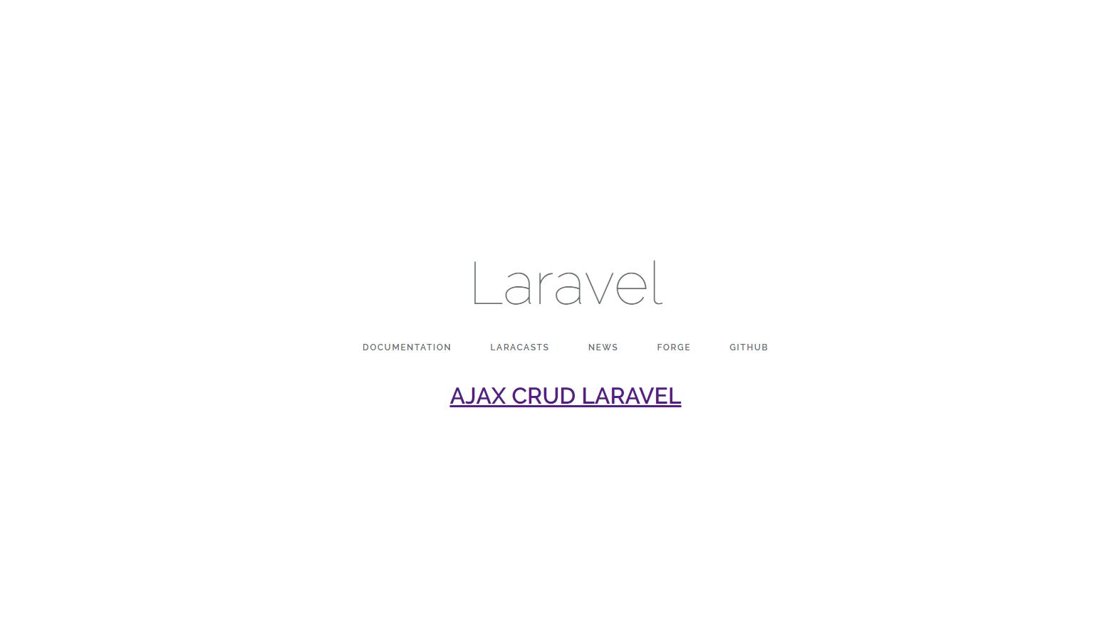 Program Membuat Ajax CRUD dengan Laravel