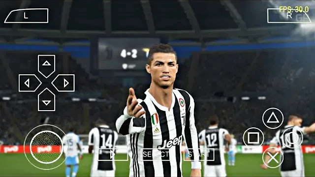 PES 2018 Lite Android Offline 700 Mb Update New Transfer Camera PS4