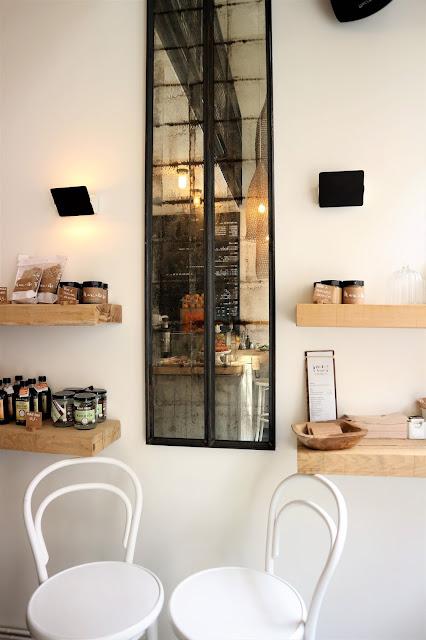 Marcelle / Healthy food / Blog Atelier rue verte / Rez de chaussée /