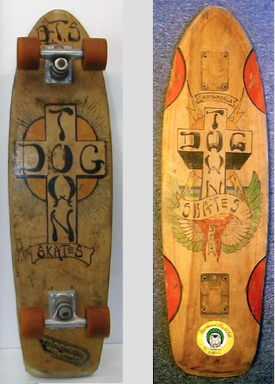 2f14b9932c6 ... Stecyk apparently -- and the distinctive scripting which has come to  characterize the Dogtown boards. They are truly beautiful specimens --  treasures.