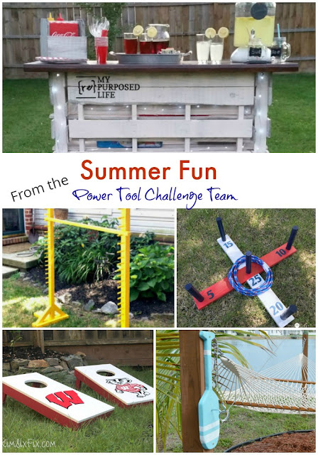 Summer Fun Projects from the Power Tool Challenge Team