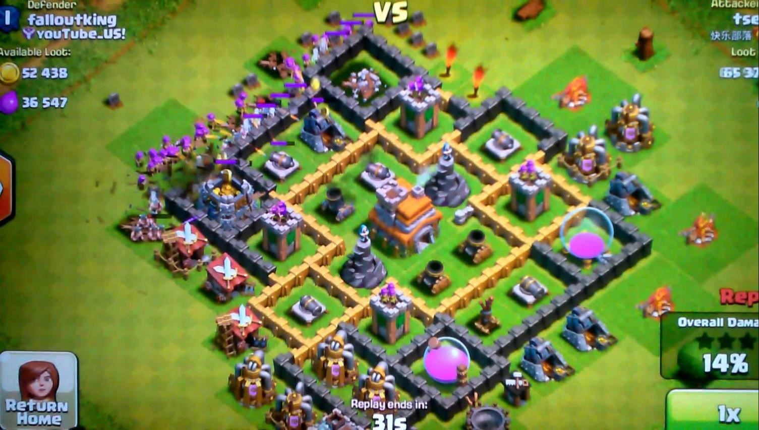 clash of clans 50 level